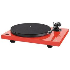MMF 2.2LE Turntable - Ferrari Red  _stereo-turntable  // Shop unique gift ideas online