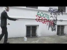 """Unser einsamer Held """"max x."""". geht auf Graffitijagd!"""