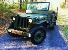 The classic World War II Jeep is a car that I've always wanted, perhaps not as a daily driver but certainly as a weekend warrior...WWII vintage...