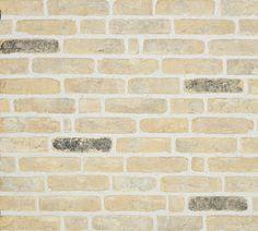 Brugs klompje productfoto // getrommeld en gecementeerd // Orignal Olivier Bricks (geel)