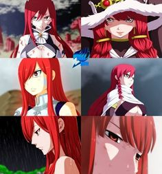 Erza Scarlet and Eileen Belserion (Fairy Tail) Fairy Tail Girls, Fairy Tail Love, Fairy Tail Ships, Fairy Tail Anime, Jellal, Fairytail, Titania Erza, Fairy Tail Symbol, Erza Scarlett