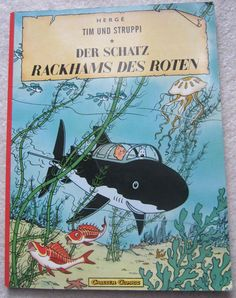 TIM UND STRUPPI DER SCHATZ RACKHAMS DES ROTEN buch tintin adventure HERGE English Book, Book Of Life, Crystal Ball, Book Collection, Book Art, Comic Books, Adventure, Ebay, Tintin