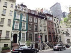Row Houses, New York (Not colorful enough for my taste)