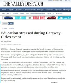 Education stressed during Gateway Cities event