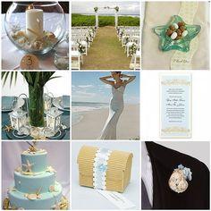 Beach wedding theme - Cockatoo & Starfish
