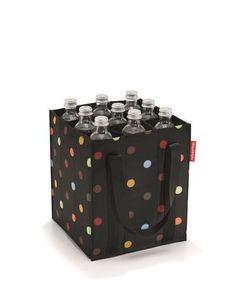 9 Vakken voor flessen 2 Scheurvaste draagbanden met klittenband sluiting De bodemmaat komt overeen met standaard fietsmanden