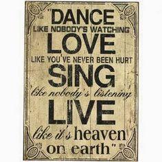 :) Dance Love Sing Live :)