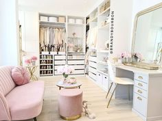 Bedroom Closet Design, Room Ideas Bedroom, Closet Designs, Bedroom Decor, Design Room, Interior Design, Dressing Room Decor, Dressing Room Closet, Dressing Rooms