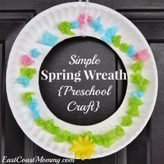 preschool spring crafts | Need an easy Spring craft that is sure to brighten your day? This ...