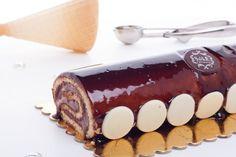 Chocolate Ice Cream Swiss Roll