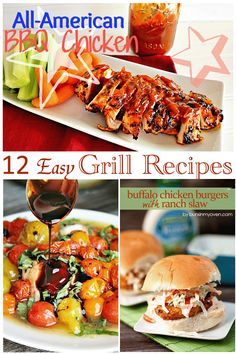 12 Easy Grill Recipes