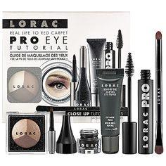 NEW! LORAC Pro Eye Tutorial Kit #Sephora