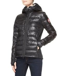Hybridge® Lite Hooded Coat by Canada Goose at Neiman Marcus.