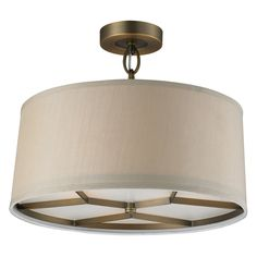 Have to have it. ELK Lighting Baxter 31262/3 Pendant - Brushed Antique Brass - 16W in. $270.00