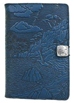Leather iPad Mini Cover Case | Cypress Cove in Sky Blue