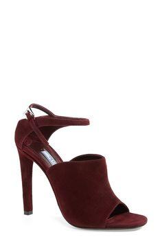 Prada Ankle Strap Suede Sandal - from @nordstrom #nordstrom