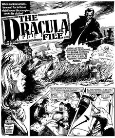 Drac's back! Classic SCREAM! strips reprinted