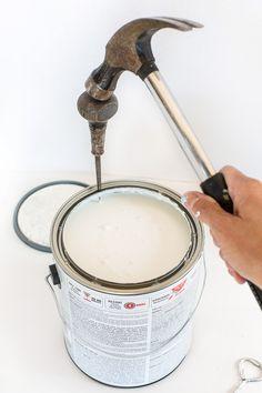 ペンキ塗りのあと片づけを楽にする5つの方法 | DIYer(s)
