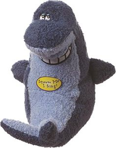 Multipet Deedle Dude Singing Shark Plush Dog Toy, 8-Inch, Blue ** Details can be found by clicking on the image. (This is an affiliate link and I receive a commission for the sales)