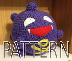 Hey, I found this really awesome Etsy listing at https://www.etsy.com/listing/155564288/koffing-pokemon-crochet-pattern