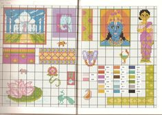 patterns / charts for cross stitch, crochet, knitting, knotting, beading, weaving, pixel art, micro macrame, and other crafting projects.