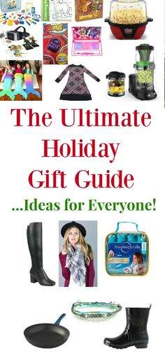 2017 holiday gift guide ideas for everyone on your list