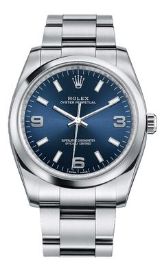 Rolex Oyster Perpetual 34mm 114200 Blue - Luxury Of Watches More