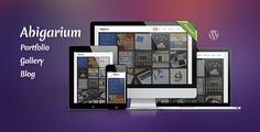 Abigarium - Premium WordPress Theme
