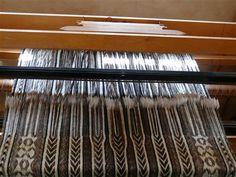 Gondit Weaving.. Nice lady.