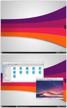 Colorful KDE by kexolino on DeviantArt Desktop Design, Games Images, Color Schemes, Desktop Screenshot, Colorful, Deviantart, R Color Palette, Colour Schemes