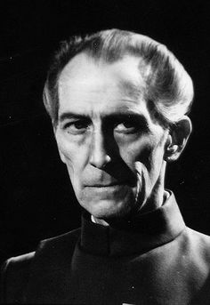 "unseen photos from ""Star Wars"" : Governor Tarkin"