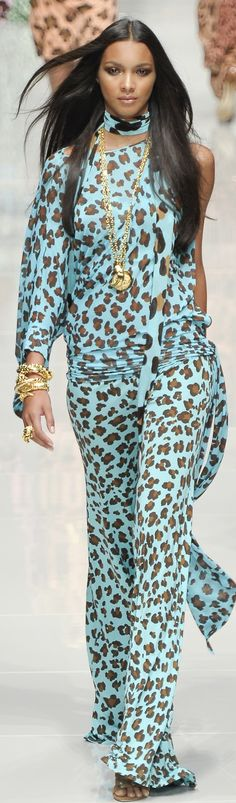Blumarine at MFW Spring 2011