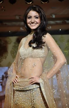 You have this picture and i have this picture!!  Anushka Sharma in Manish Malhotra Lehenga