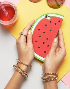 New Look   New Look - Coque originale motif pastèque Sacoche Ordinateur  Portable, Étui Iphone 3d3d5d8ac0cb