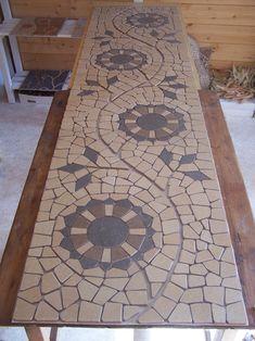 mozaiek, gemozaiekt :)