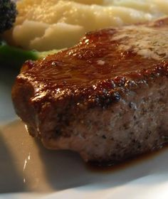 The English Kitchen: Pan Grilled Steaks with Bearnaise Butter . . .