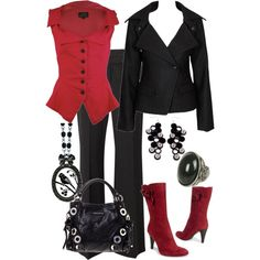 anita blake style! Can I illegally download this outfit to my closet? No...? Dang it!