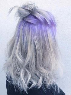 Do you have no idea to choose the most suitable hair colors for you in these days? Don't worry, just browse here and pick up some stunning ideas of beautiful pulp riot lilac and mercury hair colors for you in these days. No doubt this hair color is a sign of beauty in 2018. So, just choose and wear best hair colors.