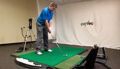 At http://www.stlouisgolfpro.net/lessons/ we offer In Bay as one of our Golf Lesson Types. In here, basic golf skills are being developed. The Main Goal of this lesson is to establish a comfortable swing.