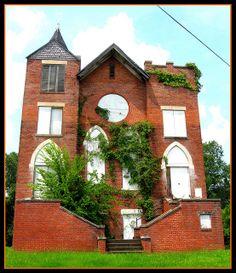 Abandoned church near Tampa, Florida.
