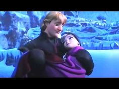 ▶ U N C O N D I T I O N A L L Y  This was really cute. Anna and Elsa and Anna and Kristoff.