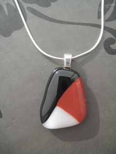 Glass fused necklace