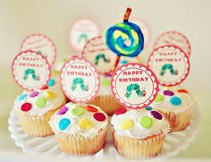 The Very Hungry Caterpillar {Birthday Party} // Hostess with the Mostess®