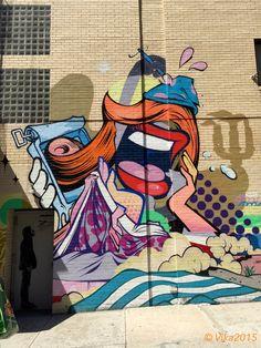Soho NY #streetart jd Street Art Utopia, Street Art Graffiti, Outdoor Sculpture, Outdoor Art, Graffiti Words, Sidewalk Chalk Art, Art Deco, Street Painting, Amazing Street Art
