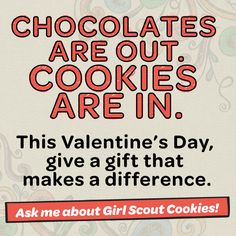 Shareable for your social sites during Girl Scout Cookie Season! Scout Mom, Girl Scout Swap, Girl Scout Leader, Daisy Girl Scouts, Girl Scout Troop, Buy Girl Scout Cookies, Girl Scout Cookie Image, Girl Scout Cookies Flavors, Girl Scout Cookie Sales