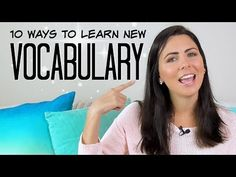 (13) 10 Tips To Build Your Vocabulary | Ways To Learn More English Words - YouTube