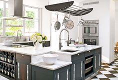 Landmark House restored - amazing kitchen design