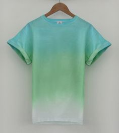 AndClothing Ocean Dip Dye Tee #dipdye