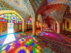 Ornamentation architecture, Iran.