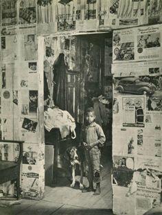 """MARGARET BOURKE-WHITE (American, 1904 - 1971). """"East Feliciana Parish, Louisiana"""". 1936."""